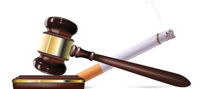Zakon o zabrani pušenja!